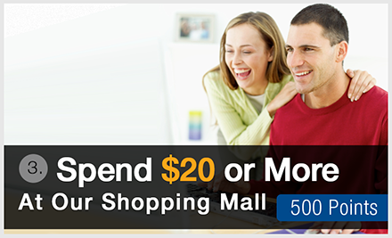 Spend $20 or more at the Westgate Mall