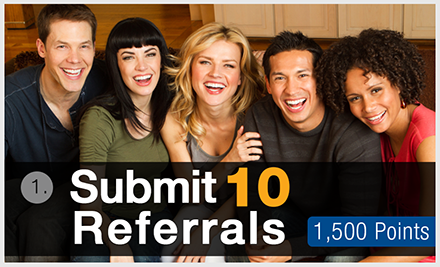 Submit 10 Referrals